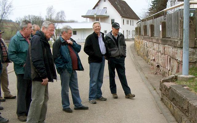 Mauer am Alten Schulhaus