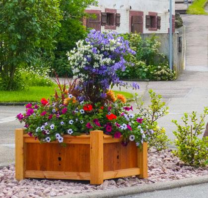 Blumenschmuck in Tumlingen