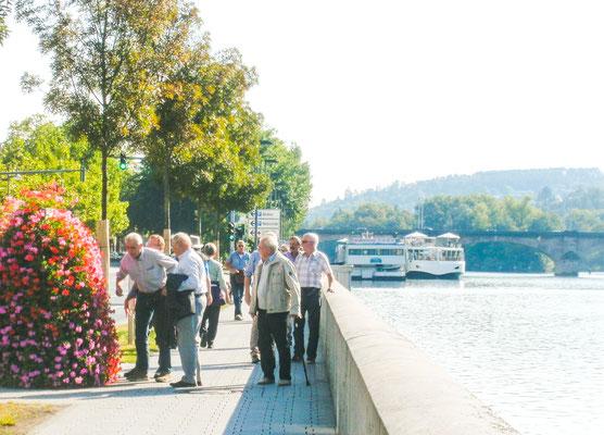 Spaziergang in der Altstadt und am Mainufer