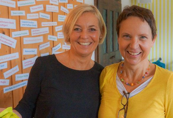 Die Frontfrauen aus dem Bürgertreff-Vorstand: Carla Dikkers und Regina Martini.