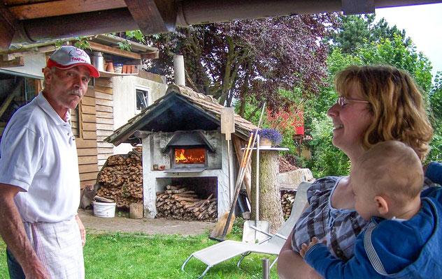 Flammkuchen-Einladung bei Bernd Storch