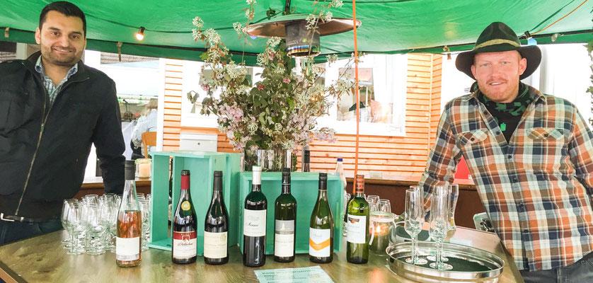 Die Weinlaube aus dem Badischen