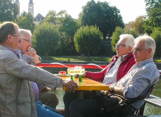 Bootsfahrt auf dem Main nach Veitshöchheim