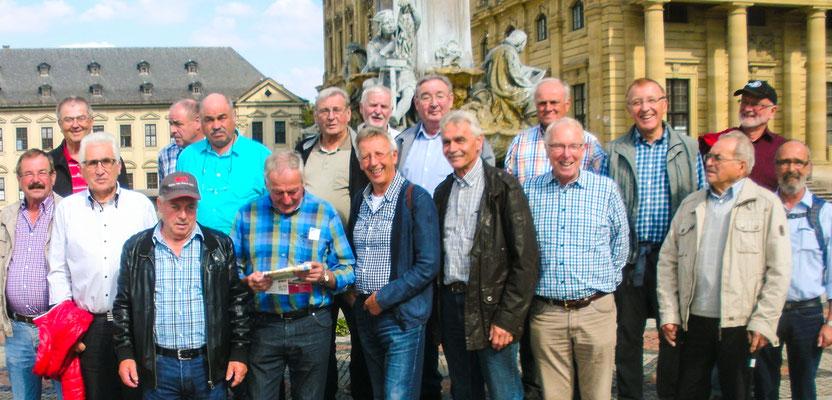 Die Schaffigen Rentner in der Residenz Würzburg