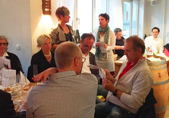Italienische Weinprobe in der Schenke und mehr.