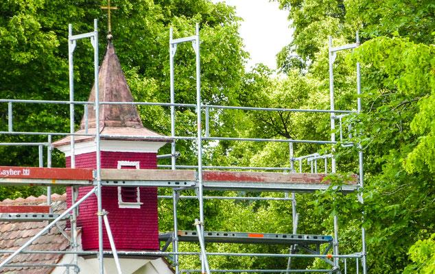 Renovierung der Friedhofs-Kapelle
