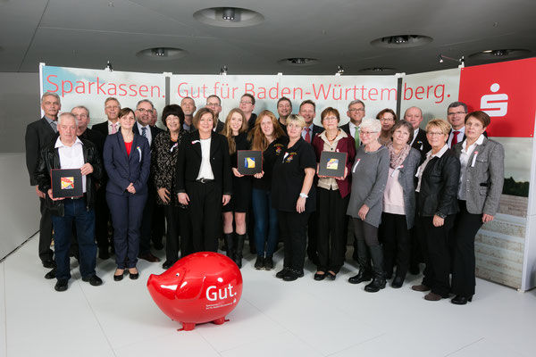 Preisverleihung 2015 u.a. für die Schaffigen Rentner Tumlingen
