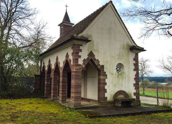 Friedhofskapelle Tumlingen, vor der Renovierung