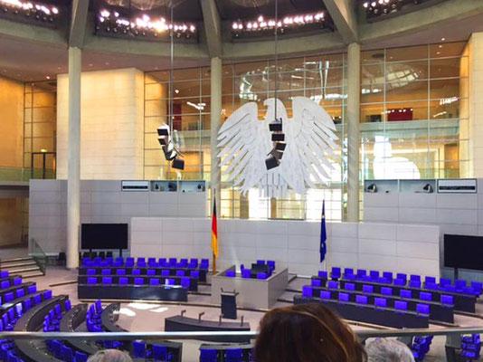 Unser Bundestag - wo große Reden, Wahlen und Gesetze im Mittelpunkt stehen