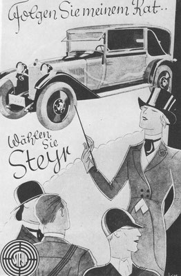 Reclame Steyr.