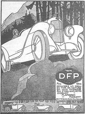 Advertentie van DFP.