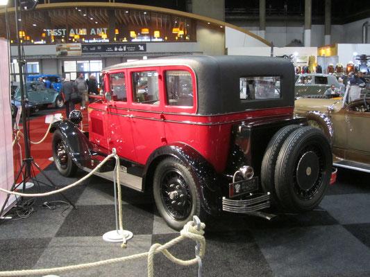 Minerva AN 6-cilinder uit 1928. (Interclassics Brussels 2018)