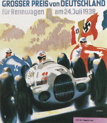 Seaman won de Duitse Grand Prix van 1938 in een Mercedes W154.