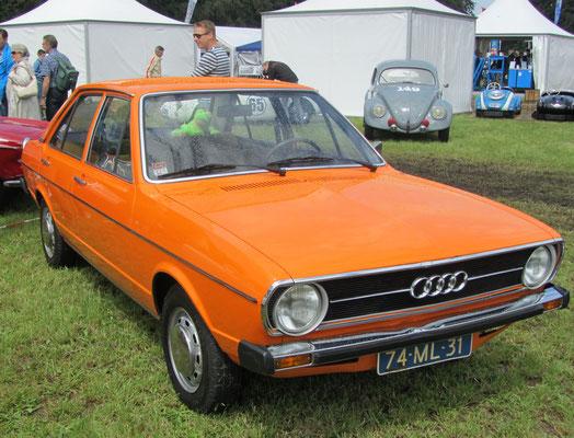 Audi 80 LS uit 1976.