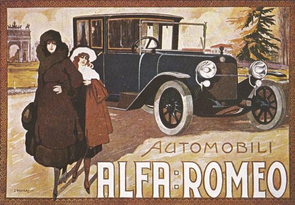 Reclame Alfa Romeo.