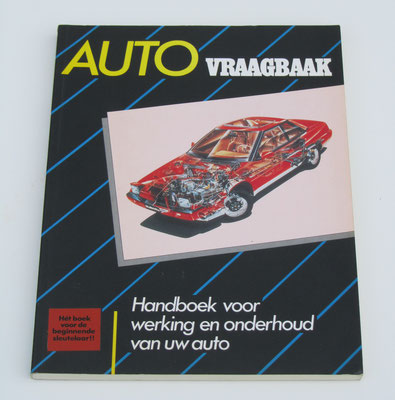 Auto Vraagbaak. Kluwer, 1988. Dit boek is te koop, prijs € 4,00 email: automobielhistorie@gmail.com