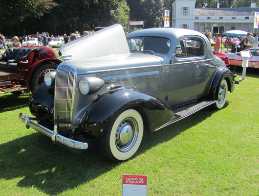 Buick sport coupe type 40/8 uit 1936. (Concours d'Elegance Paleis Soestdijk 2019)