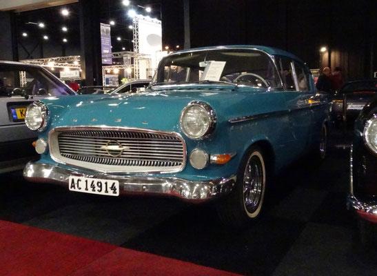 Opel Kapitän uit 1959. (Interclassics Maastricht 2020)