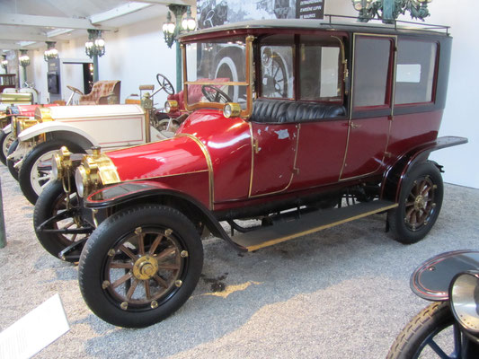 Mercedes Biplace Sport 3770 uit 1906 (Collection Schlumpf).
