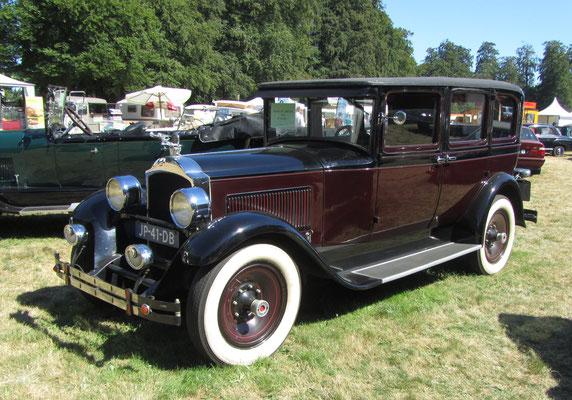 Packard 526 Limousine uit 1928 (Concours d'Élégance 2018 op Paleis Het Loo in Apeldoorn).