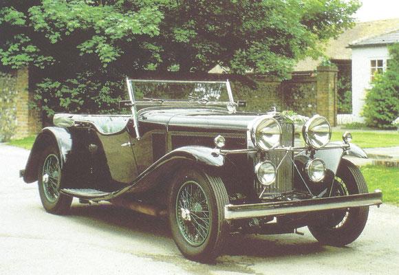 Een Talbot 90 met een VandenPlas carrosserie.