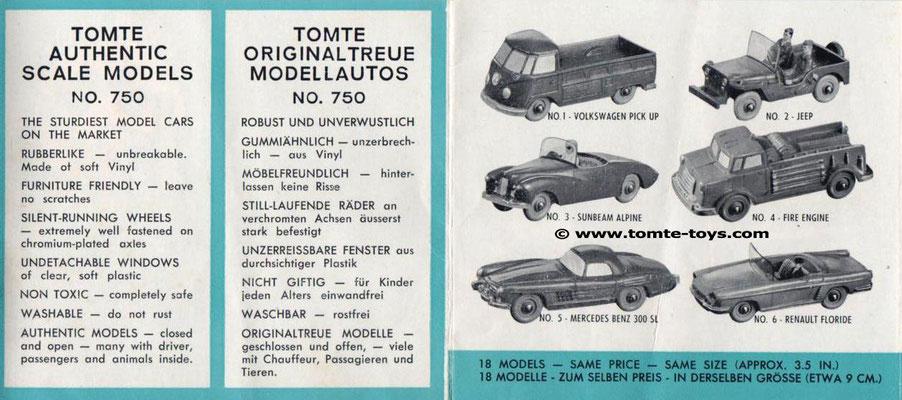 Een folder van Tomte uit 1964. (1)