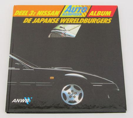 Deel 3: Nissan Album ANWB Autokampioen, 1984. Dit boek is te koop, met alle ingeplakte plaatjes, prijs € 5,00 email: automobielhistorie@gmail.com