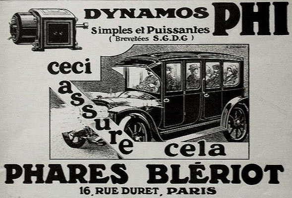 Advertentie Blériot, 1913