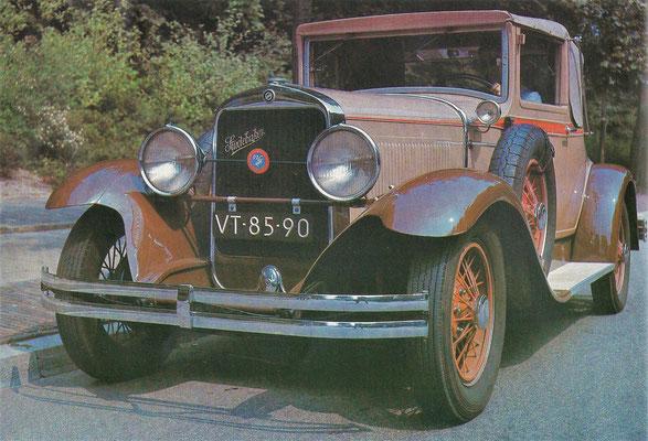 Studebaker Commander uit 1929.