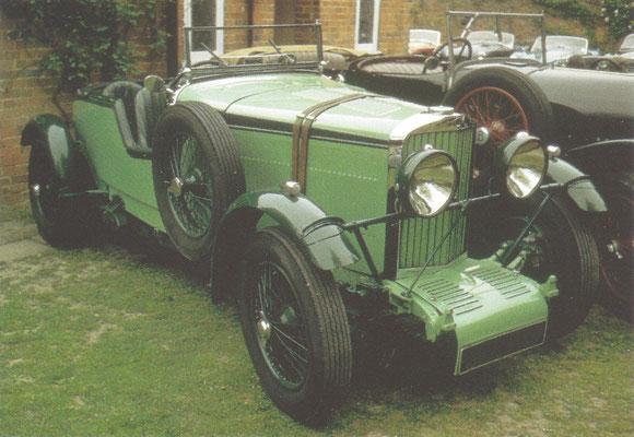 Een Talbot 105 Speed Model (1931-1937).