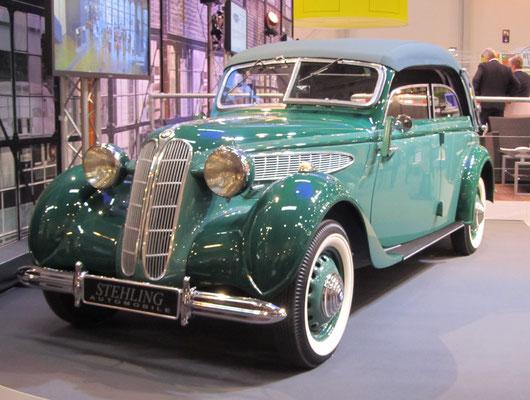 BMW 326 Cabriolet uit 1939. (Techno Classica Essen 2019)