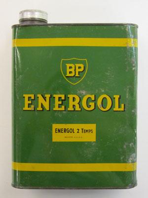 Olieblik BP Energol.