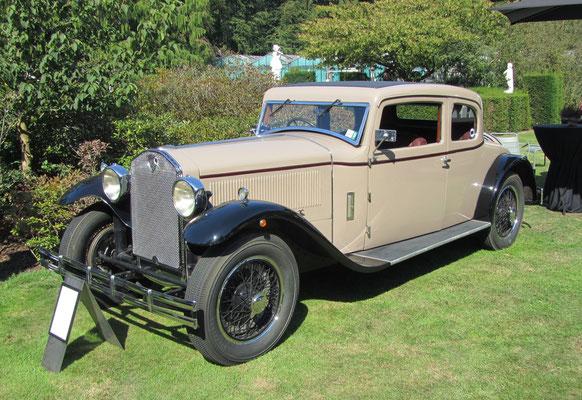 Lancia Dilambda Coupé uit 1929 met een carrosserie van Castagna. (Concours d'Elegance Paleis Soestdijk 2019)