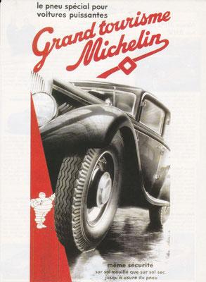 Reclame van Michelin.