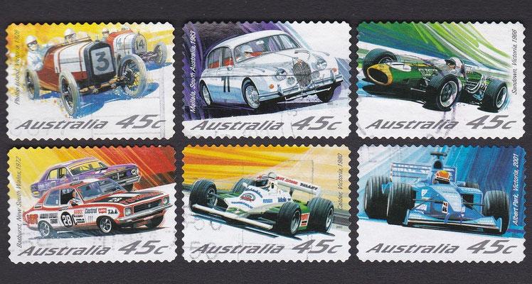 Postzegels Australië.