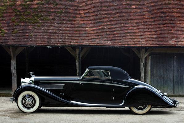 Hispano-Suiza K6 Cabriolet uit 1935 met een carrosserie van Brandone.