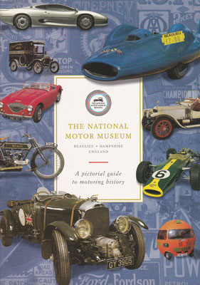 Guide The National Motor Museum Beaulieu uit 1998.