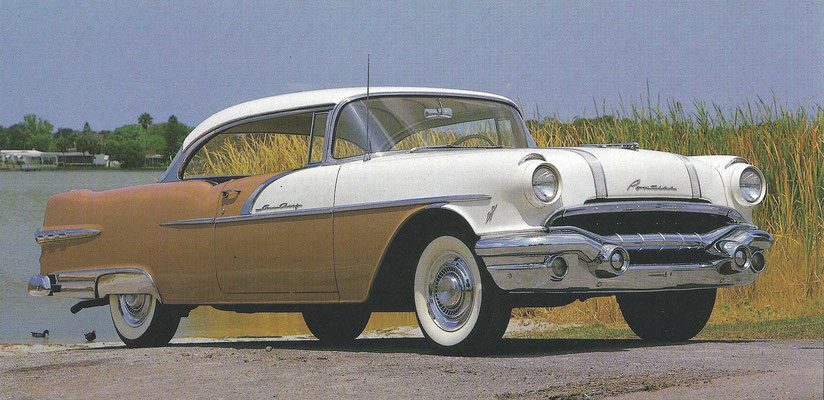 Een Pontiac Starchief uit 1956.