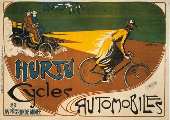 Reklame van Hurtu.