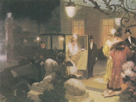 Kunstwerk van B. Lelong uit 1912.