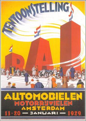 Een affiche voor de RAI 1929.