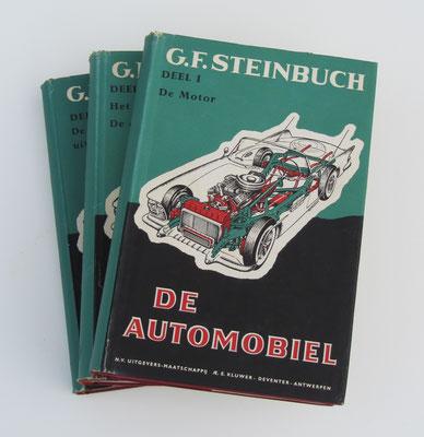 De Automobiel. Deel 1, 2 en 3. G.F. Steinbuch, 1962. Deel 1 is te koop, prijs € 6,00 email: automobielhistorie@gmail.com
