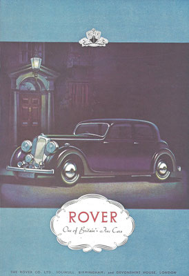 Advertentie Rover.