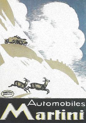 Een poster uit 1916 van Emile Cardinaux voor Martini.