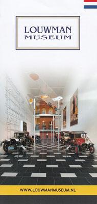 Folder Louwman Museum, Den Haag.