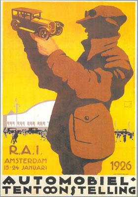 Een affiche voor de RAI 1926.