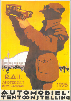 Affiche voor de RAI 1926.