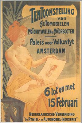 Een affiche voor de RAI 1903.
