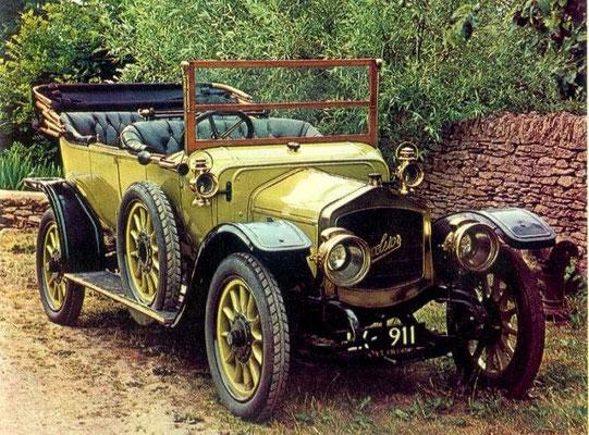 Een Excelsior uit  1911.
