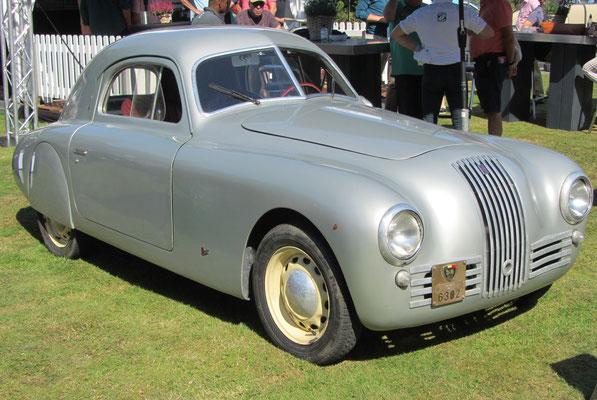 Fiat 1100S MM (Mille Miglia) uit 1947.